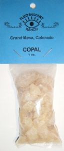 Copal: Loose Resin Incense (1oz bag)